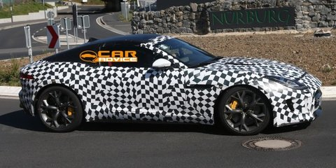 Jaguar F-Type coupe: hardcore R-S spied on track