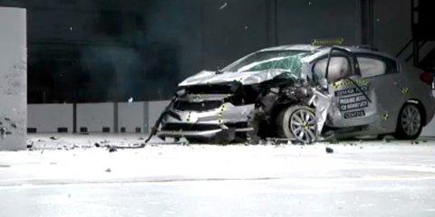 Honda Civic dominates IIHS small car crash tests