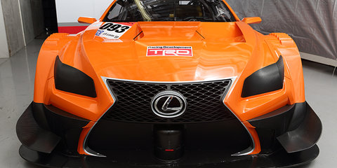 Lexus LF-CC-based Super GT racer revealed