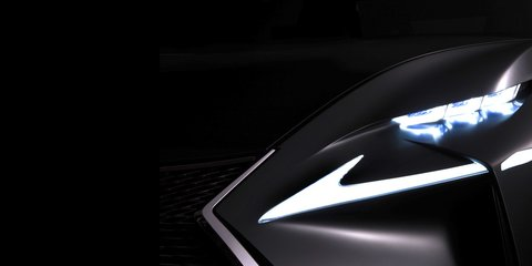 Lexus concept teased ahead of Frankfurt debut