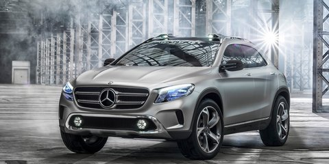 Mercedes-Benz GLA-Class design sketches teased