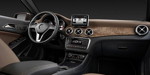 Mercedes-Benz GLA: official pictures and details