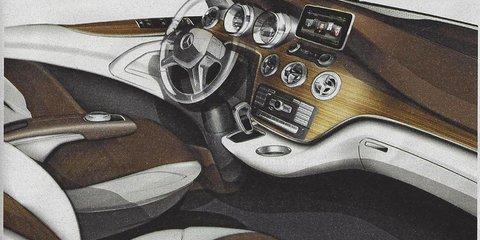 Mercedes-Benz Viano design sketches leaked