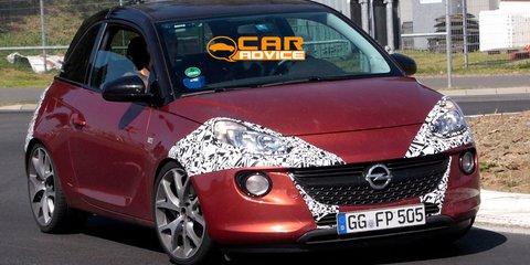 Opel Adam OPC: potential performance mini spied