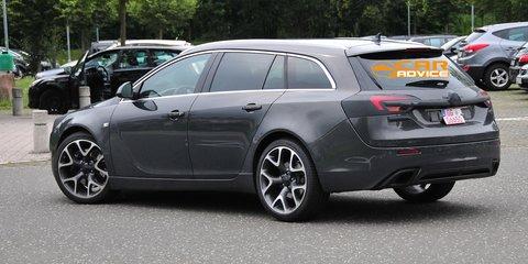 Opel Insignia OPC wagon spied