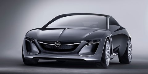 Opel Monza concept: four-seat range extender revealed
