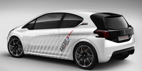 Peugeot 208 Hybrid FE concept: 2.1L/100km, 8.0sec 0-100km/h