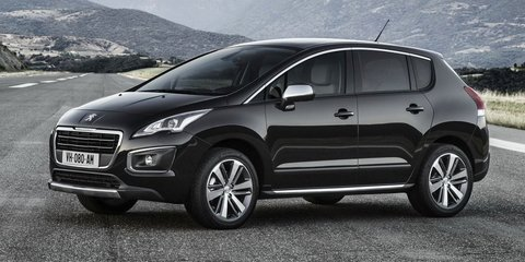Peugeot 3008 facelifted for 2014