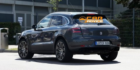 Porsche Macan Turbo: hotter luxury crossover spied