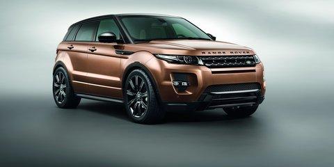 Range Rover Evoque updated for 2014, new nine-speed auto added