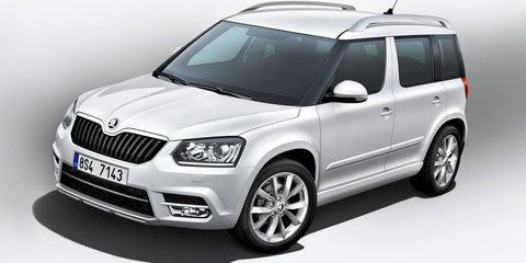 2014 Skoda Yeti: two styles available in facelifted SUV range