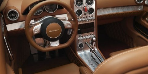 Spyker B6 Venator Spyder Concept debuts at Pebble Beach