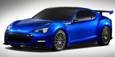 Subaru BRZ STI: enhanced Japanese sports car teased
