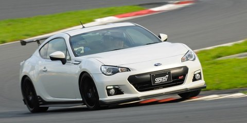Subaru BRZ tS STI concept revealed in Japan