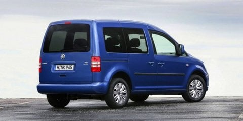Volkswagen Caddy BlueMotion: updated van revealed, 4.5L/100km