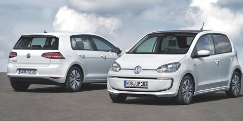 Volkswagen e-Golf: zero-emission production hatch revealed