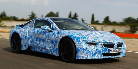 BMW i8: 266kW plug-in hybrid sports car quicker than M3