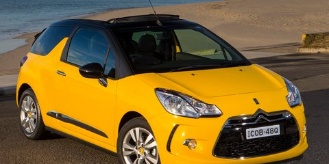Citroen DS3 Cabrio: pricing and specifications