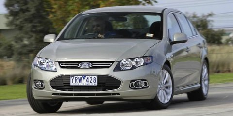 2014 Ford Falcon: updated large car's death-row launch unprecedented