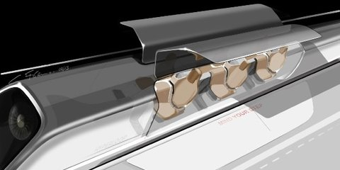 Tesla CEO Elon Musk imagines Hyperloop tube transport system