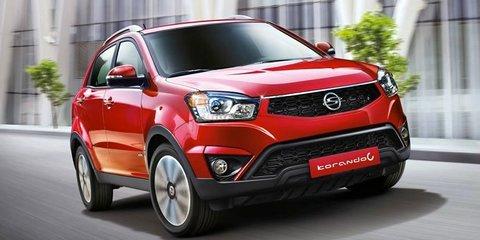 Ssangyong Korando: facelift for compact Korean SUV