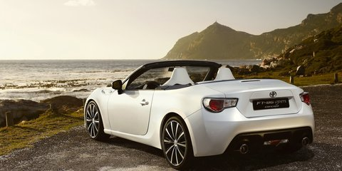 Toyota 86 Convertible not cancelled