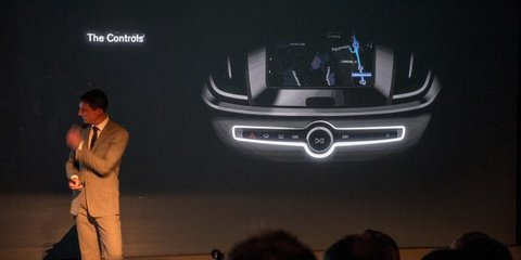 2014 Volvo XC90: second-gen luxury SUV teased