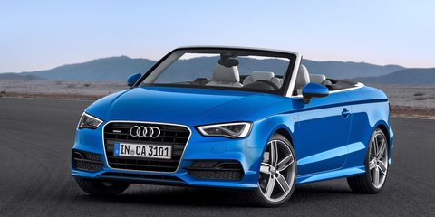 Audi A3 Cabriolet: sedan-based drop-top revealed