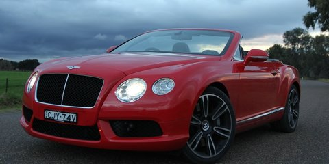 Bentley Continental GTC Video Review