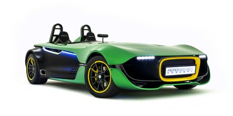 Caterham AeroSeven concept officially unveiled