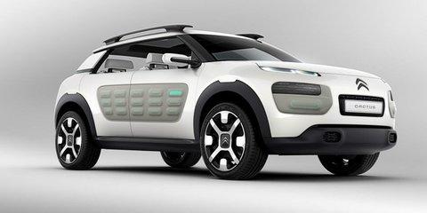 Citroen Cactus: air-propelled production car spied