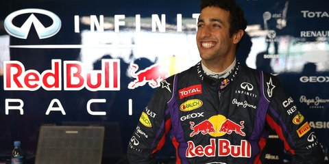 Ricciardo announced as Infiniti Red Bull Racing driver for 2014
