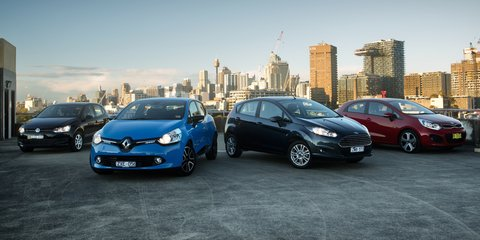 Light car comparison: Renault Clio v Ford Fiesta v Kia Rio v Volkswagen Polo