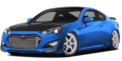 Hyundai Genesis Coupe: 1000hp SEMA concept revealed