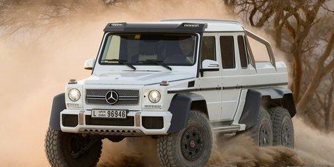 Mercedes-Benz G63 AMG 6x6 priced at $547K