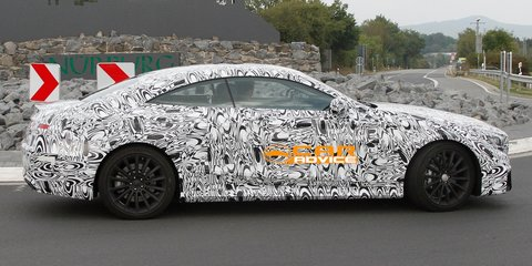 Mercedes-Benz S63 AMG Coupe spied in Germany