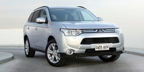 Mitsubishi Outlander updated for 2014