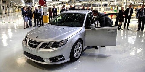 Saab production resumes in Trollhattan under NEVS control