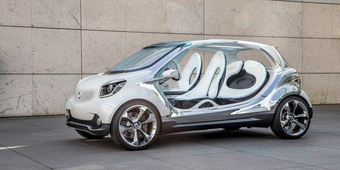 Smart Fourjoy: four-seat concept previews 2014 production car