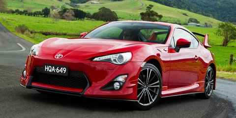Toyota 86 range updated for 2014