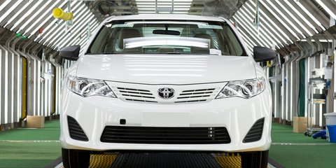 Toyota Australia exports one-millionth car to Middle East