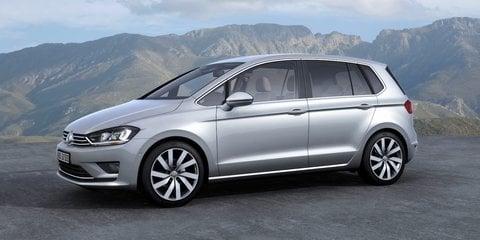 Volkswagen Golf Sportsvan concept: next-gen Golf Plus previewed