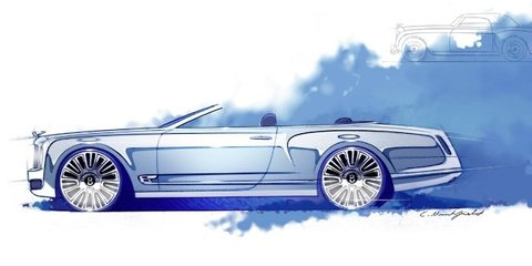 Bentley Mulsanne convertible could enter limited production