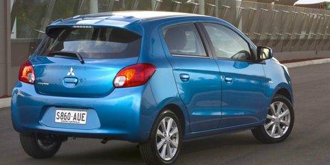 Mitsubishi Mirage: price cuts for city car range