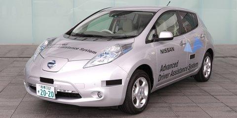 Nissan Leaf becomes Japan's first road-legal autonomous vehicle