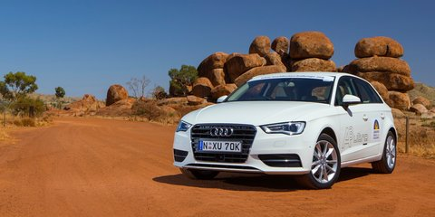 Audi A3 Sportback hits the road with World Solar Challenge