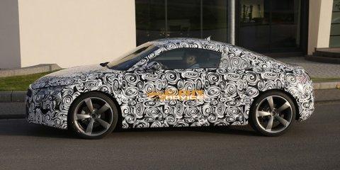 Audi TT: third-gen sports car spied