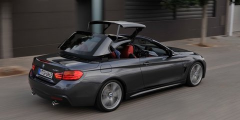 BMW 4 Series Convertible arrives March, adds $18K over coupe