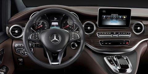 Mercedes Benz V Class Viano Replacement Interior Revealed