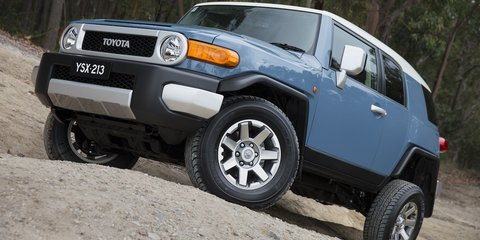 Toyota FJ Cruiser updated for 2014